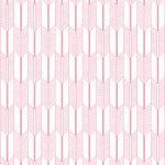 behang roze japanse print okika