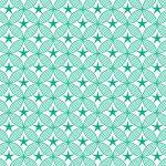 Behang sterren groen okika japanse print