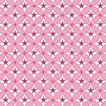 behang ster rood okika japanse print