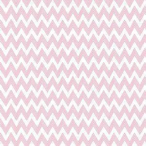 behang roze wit zigzag okika