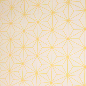 behang online kopen, behang kopen, behang online, behang per meter, behangen, geel, gele, print, kinderkamer, babykamer