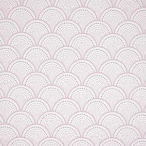behang golven roze, behang, behangen, behang geel, kinderkamer, behang meisje, behang jongen, geel, oker, warm, print, japans, asanoha,