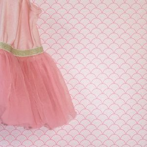 behang kopen, behang meisjeskamer japanse print okika