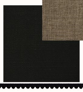 gordijnstalen gratis, stalen, staal, gordijn, zwart, okika, gordijn op maat, detail-stof2