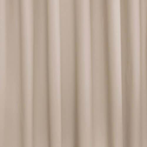 Okika · zand, beige, bruin, wit, uni gordijnstof voor gordijnen