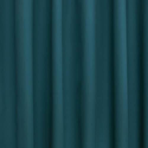 petrol blauw groen uni gordijnstof voor gordijnen