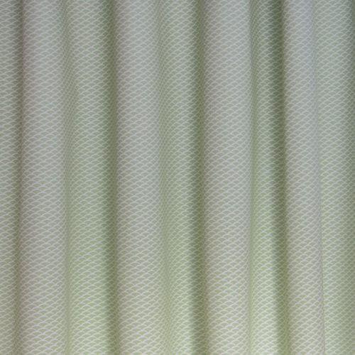 Okika boogjes groen groene mint stof gordijnstof voor for Gordijnen stof
