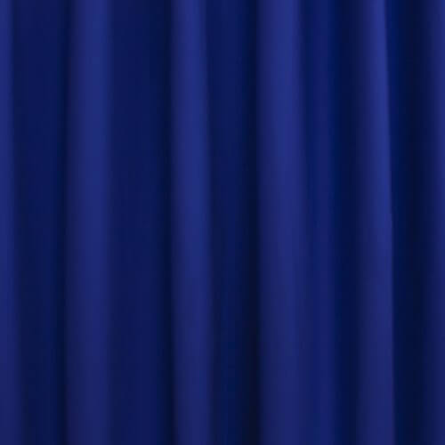 Okika · blauw kobalt uni gordijnstof voor gordijnen