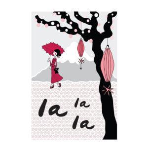 poster A3 geisha, poster, A3, vliegenier, jongen, jongenskamer, prent, japan, vliegtuig, kinderkamer, jongenskamer