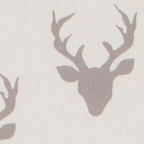 gordijn, gordijnen, gordijn, wit, wit gordijn, grijs, herten, hertenkop, gordijn met hert, gordijn kopen, gordijnen op maat, origineel, gordijn ontwerp, gordijn ontwerpen