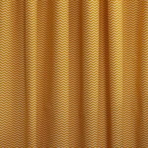 zigzag, oker, gordijnstof, kinderkamer, oranje, geel, oker, gordijnen, gordijnen ontwerpen, gordijn ontwerp