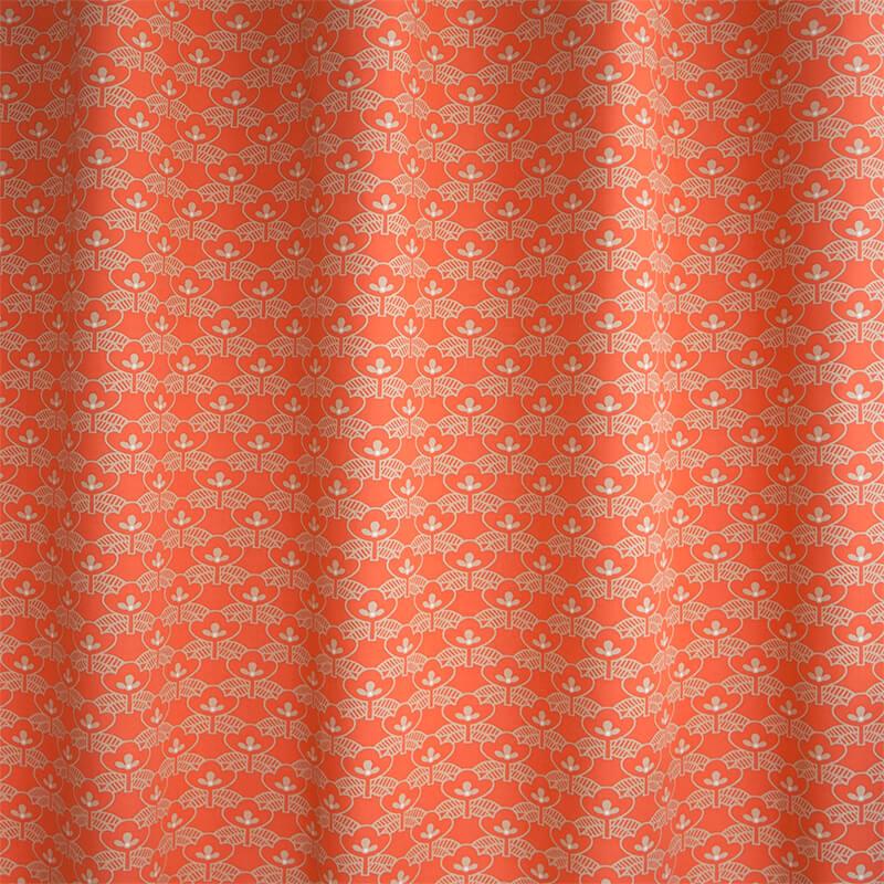 Okika · gordijnen Oranje Bloem
