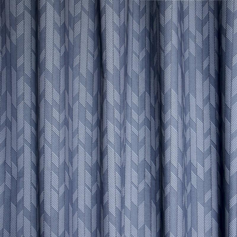 Okika · gordijnen Twotone Blauw