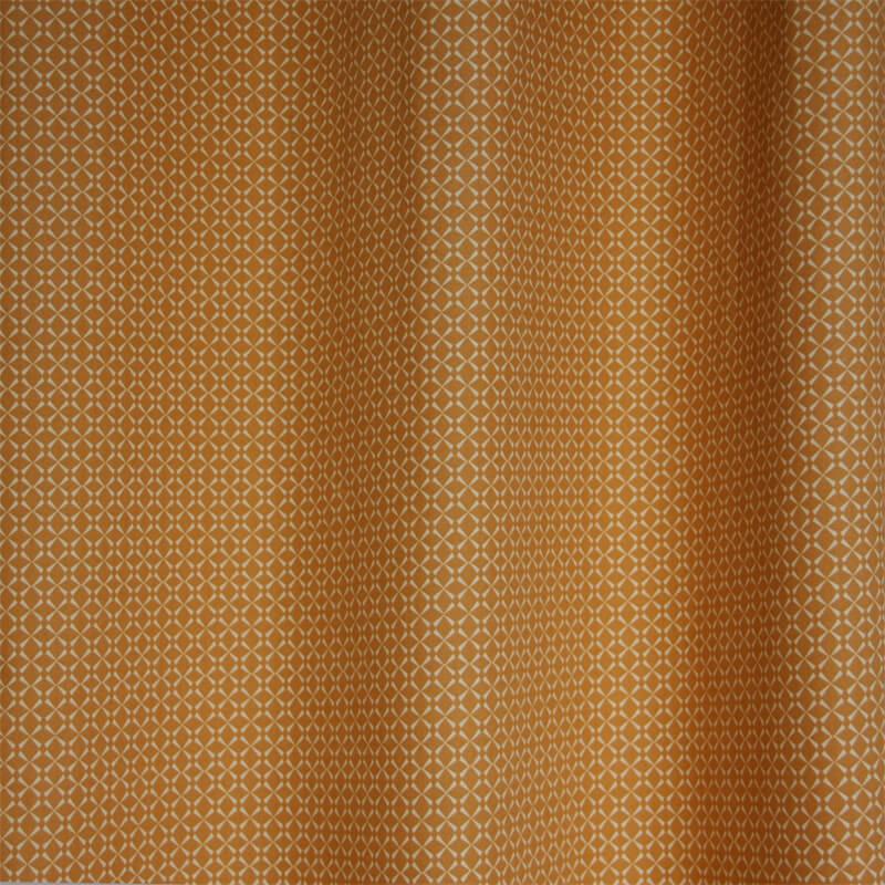Okika seventies bruin gordijnstof okika sfeer ad1659 - Meisje kamer sfeer ...
