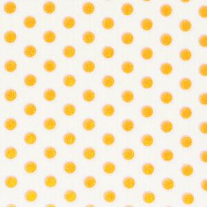 stof per meter, stof bestellen, stip wit geel, wit, geel tail