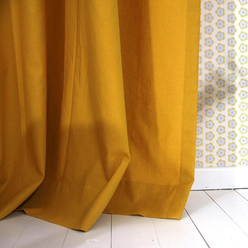 6c50187d56b Okika · gordijnen-oker-kinderkamer-okika-gordijn-oker-geel-behang ...