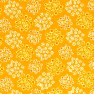 gordijnen bosje bloemen, geel, oker, warm, bloem, bloemetjes, babykamer, gordijn kinderkamer, gordijn op maat, gordijn meisjeskamer, kinderkamer, kamer, gordijnen online, gordijn kopen