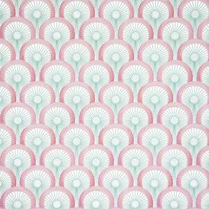 behang handtekening roze, behang, behangen, behang geel, kinderkamer, behang meisje, behang jongen, geel, oker, warm, print, japans, asanoha,