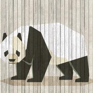 Behangwand Panda, behangen, behang, behangwand, wand behangen, kwaliteit, pinguin, natuur, puur, stijlvol,behang, behangen, wand, kunst, art,