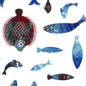 vouwgordijn aquarium wit, vis, vissen, aquarium,, tiener, puber, neutraal, babykamer, zoon, dochter, meisje, jongen, baby babykamer, gordijn kinderkamer, gordijn op maat, gordijn meisjeskamer, kinderkamer, kamer, gordijnen online, gordijn kopen