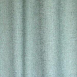 blauwe kleurige gordijnstof inbetween