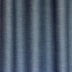 blauwe gordijnstof met verduistering