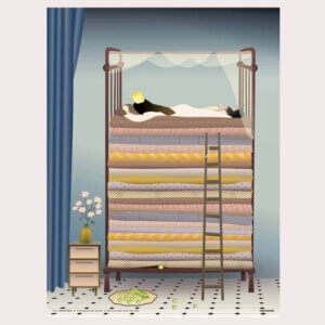 poster The princess and the pea
